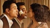 Kamal Haasan and Pooja Kumar in Vishwaroopam 2