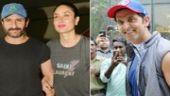If Hrithik Roshan celebrated birthday with media and fans, Kareena Kapoor Khan joined hubby Saif Ali Khan for a screening of Kaalakaandi.