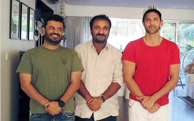 Vikas Bahl, Anand Kumar, Hrithik Roshan