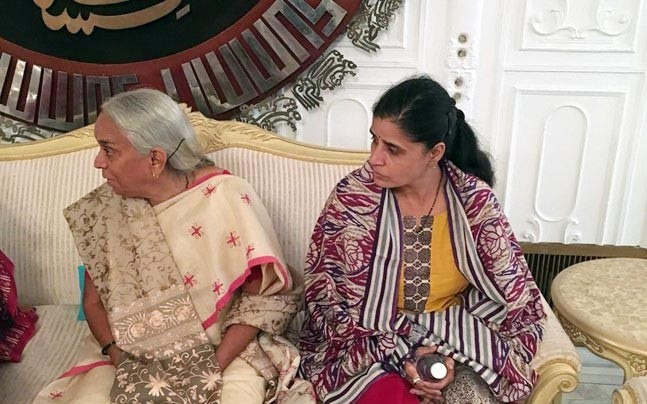 Kulbhushan Jadhav's mother and wife seen during their visit to Pakistan