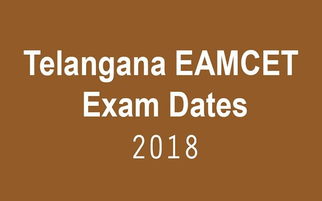 Telangana EAMCET 2018: Check out the exam dates here