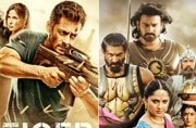 Posters of Tiger Zinda Hai and Baahubali 2