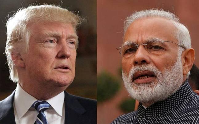 US President Donald Trump and Indian PM Narendra Modi