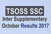 TSOSS SSC, Inter supplementary October Results 2017: Announced at telanganaopenschool.org