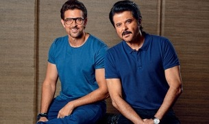 Actors Anil Kapoor and Hrithik Roshan