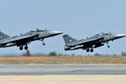 The first complete squadron of 18 LCA Tejas jets is yet to be inducted