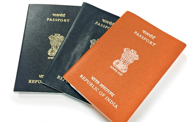The government plans to issue Indians with less than a 10th-standard education passports with orange sleeves.