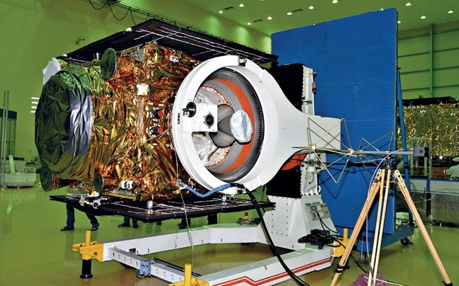 Navigation satellite IRNSS-1l launched last month
