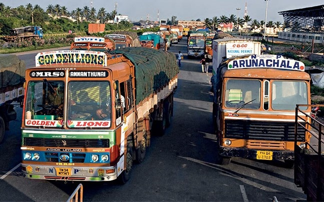 Industry is worried the e-way bill logjam will hit their supply chains and production cycles. Photo: Deepak G Pawar