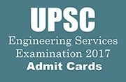 UPSC Engineering Services Examination 2017: Admit cards released at upsc.gov.in, know how to download