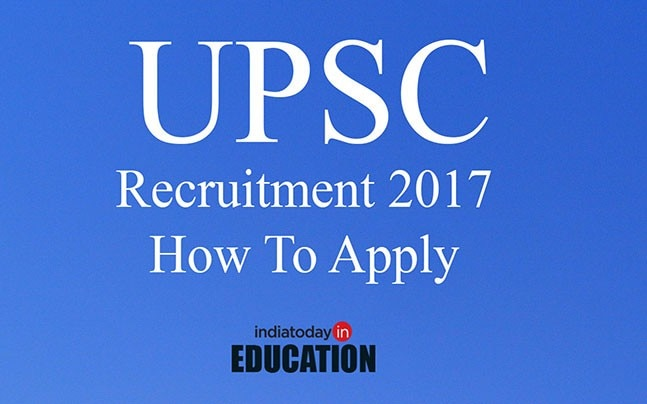 UPSC is hiring for various posts: Apply now at upsconline.nic.in