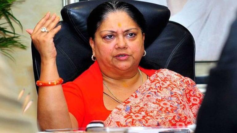 Rajasthan CM Vasundhara Raje writes to I&B Ministry