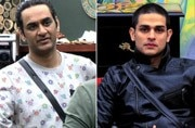 Vikas Gupta and Priyank Sharma in a still from the show.
