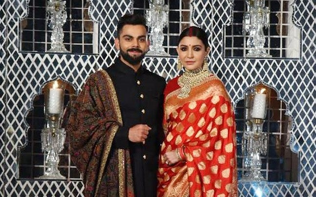 Watch Anushka Sharma Is A Bindaas Bride At Her Wedding Reception