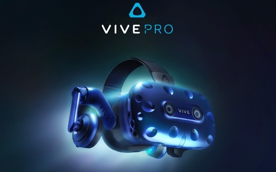 Higher resolution HTC Vive Pro HMD announced