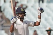 Virat Kohli equals Rahul Dravid's record for most 50+ scores by an India captain in a year