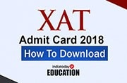 XAT Admit Card 2018 to be out today at xatonline.in: How to download