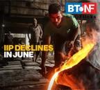 IIP contracts 16.6% in June despite resumption of industrial activity