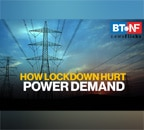 How demand for power dipped as lockdown was extended