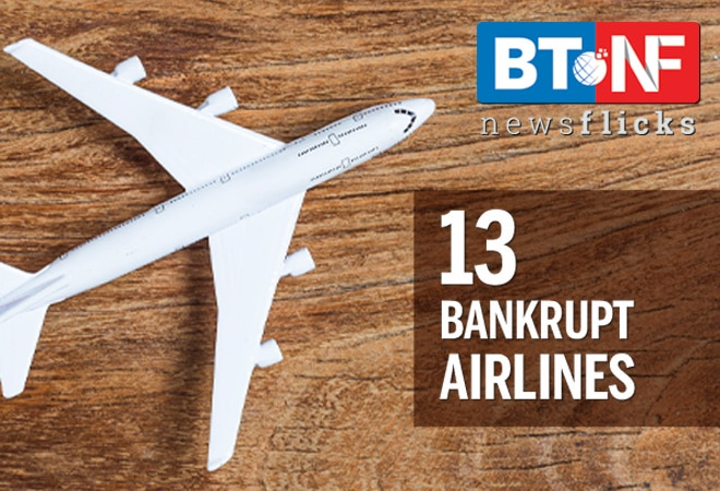 13 airlines which went off radar due to bankruptcy