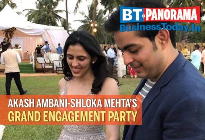 All you need to know about Akash Ambani-Shloka Mehta's grand engagement party