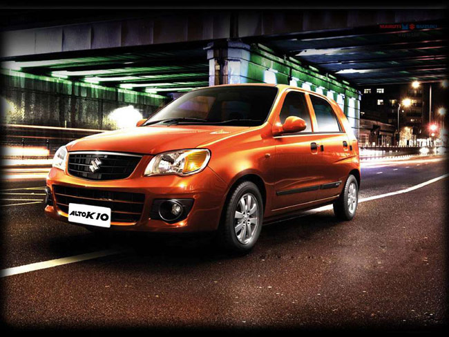The country's largest car maker, Maruti Suzuki India, on November 3, 2014 launched the new generation of its small car Alto K10 that comes equipped with automated gear shift and is priced up to Rs 3.82 lakh (ex-showroom Delhi).