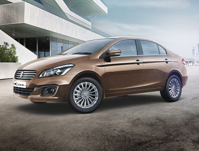 Maruti Suzuki India launched its new compact sedan Ciaz on October 6 in India with price starting at Rs 6.99 lakh