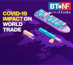 What's the impact of COVID-19 on world trade?