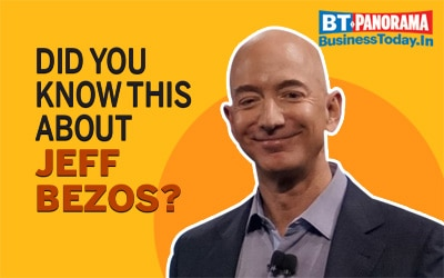 Lesser known facts about Amazon CEO Jeff Bezos