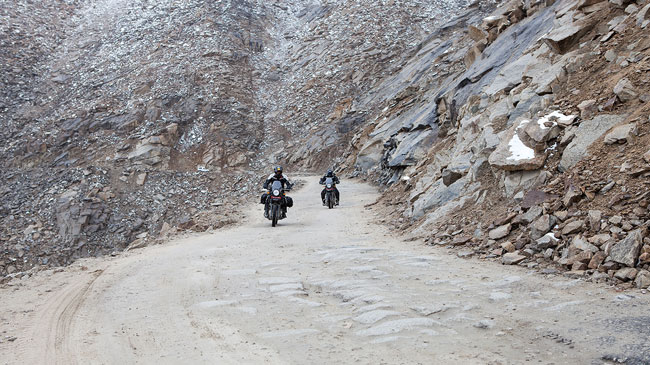 Niche bike maker Royal Enfield has launched Himalayan, an all terrain 411-cc bike, priced at Rs 1.55 lakh (ex-showroom Maharashtra).
