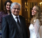 Harish Salve marries English artist Caroline Brossard in London