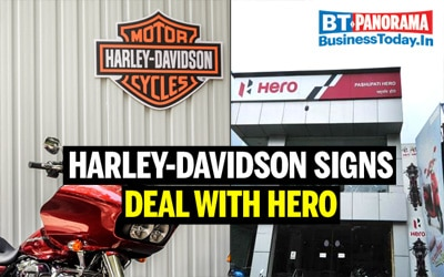 Harley-Davidson and Hero MotoCorp to ride together in India