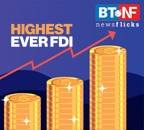 FDI equity inflows rise by 40% during Apr-Dec 2020