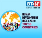 India ranks 129 out of 189 countries in Human Development Index 2019