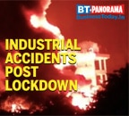 Major industrial disasters in India that took place post lockdown