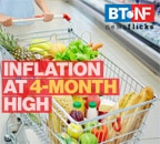 Retail price inflation rose to 5.5 per cent in March 2021