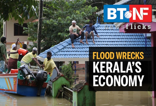 Here are the worst-affected industries in flood-wrecked Kerala