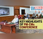 PM Modi's discussion with state CMs about gradual lifting of lockdown