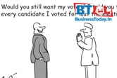 Cartoon of the Day: Would you still want my vote and other jokes!
