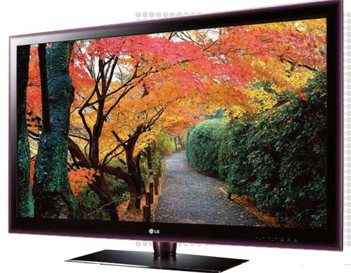 Eco-friendly home: flat panel tvs