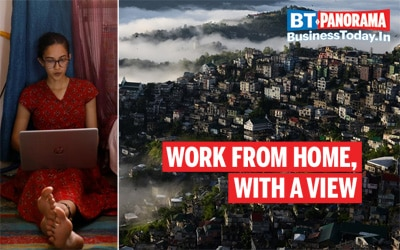 Beautiful Indian destinations to work from home