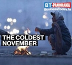 Delhi records coldest November in 71 years