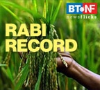 Record high rabi foodgrain output during 2020-21