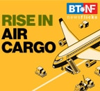 Air cargo traffic up 34.2% in March