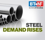 Domestic steel demand up 9% YoY in January 2021