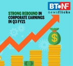 Operating profits recorded double-digit growth in Q3-FY21