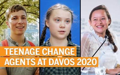 Ten teenage activists you can meet at Davos 2020