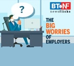 What employee issues worry Indian employers the most