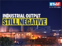 Industrial output continues negative growth in July