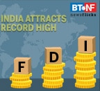 India receives record high foreign direct investments in financial year 2019-20